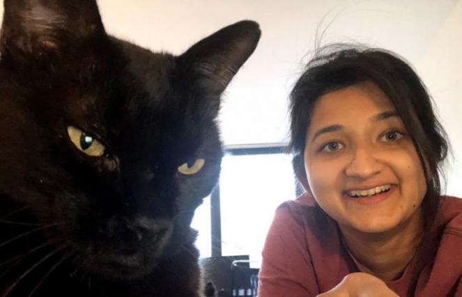 ebenezer with his new mom
