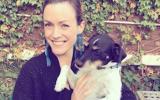 Lindsay (and dog)