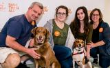 Chelsea being adopted at the Best Friends Super Adoption in New York City