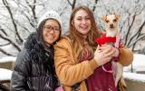 Super Adoption in the Snow!